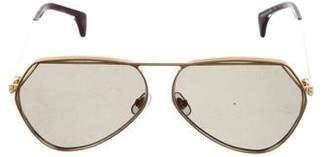 Wildfox Couture Taj Aviator Sunglasses