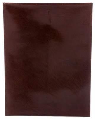 Brooks Brothers Leather Envelope