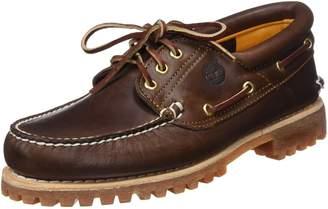 Timberland Men's 50009 Authentics 3-Eye Classic Lug Boat Shoe