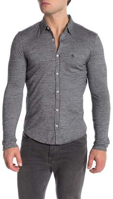 Original Penguin Jaspe Long Sleeve Slim Fit Shirt