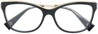 Marc Jacobs Eyewear embellished cat eye glasses