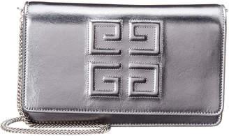Givenchy 4G Metallic Leather Shoulder Bag