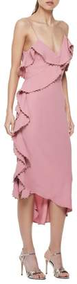 LA MAISON TALULAH Rare Beauty Ruffle Midi Dress
