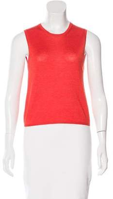 Prada Rib Knit Sleeveless Top