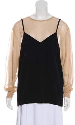Dries Van Noten Cashmere Long Sleeve Top w/ Tags