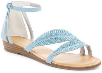 Carlos By Carlos Santana Tempo Ankle Strap Sandal $69 thestylecure.com