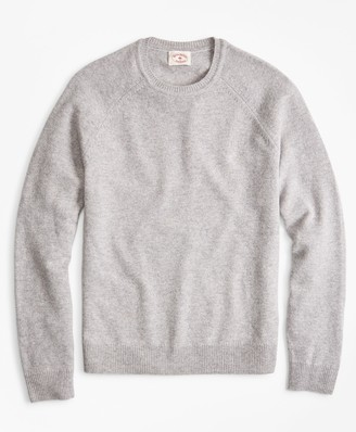 Brooks Brothers Lambswool Raglan Crewneck Sweater