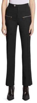 Chloé High Waist Stretch Wool Pants