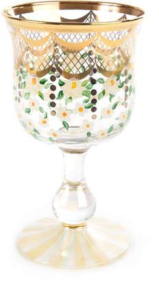 Mackenzie Childs Sweetbriar Water Glass