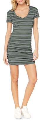 Michael Stars Kali Striped T-Shirt dress