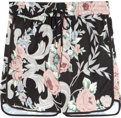 Zimmermann Keeper floral-print boardshorts