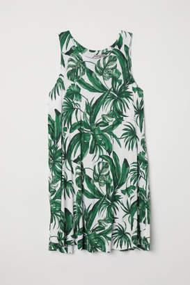 H&M H&M+ Patterned Tunic - Beige