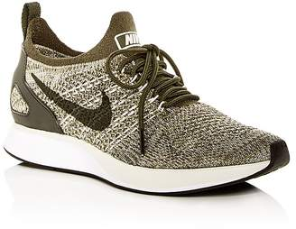 Nike Women's Air Zoom Mariah FK Racer Knit Lace Up Sneakers