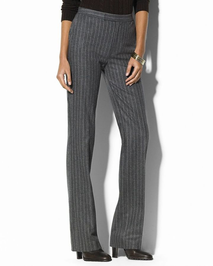 Lauren by Ralph Lauren Chalkstripe Pants
