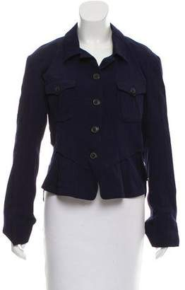 Wunderkind Asymmetrical Button-Up Jacket w/ Tags