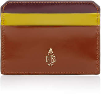 Mark Cross Brush Off Leather Cardholder