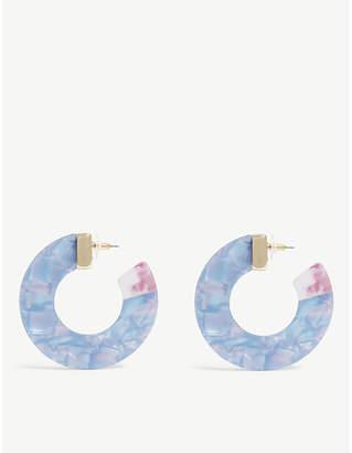 BaubleBar Dakota hoop earrings