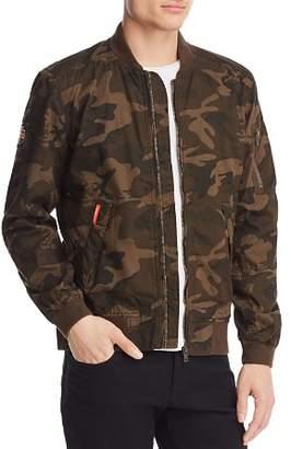 Superdry Rookie Duty Camouflage Bomber Jacket