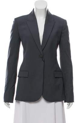 Calvin Klein Collection Wool-Mohair Peak-Lapel Blazer w/ Tags