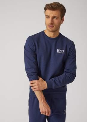 Emporio Armani Ea7 Cotton Crew Neck Sweatshirt