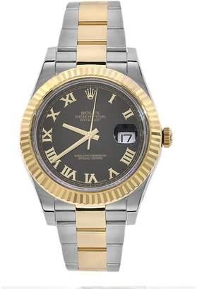 Rolex Datejust II 116333 18K Yellow Gold & Stainless Steel 41mm Watch