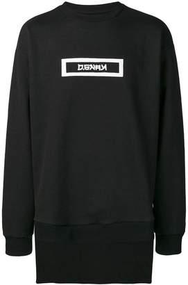 D.Gnak Back Tail Sweatshirt