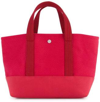 Cabas knitted style small tote bag