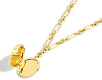 J.Crew Link Locket Necklace