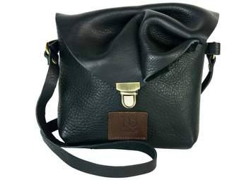 N'Damus London - Emily Rose Mini Black Leather Crossbody Bag