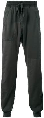 Haider Ackermann Grey Perth panelled track pants