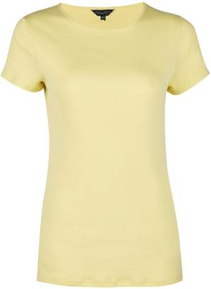 Dorothy Perkins Womens Lemon Short Sleeve Crew Neck T