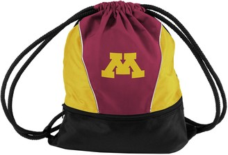 NCAA Logo Brands Minnesota Golden Gophers Sprint Drawstring Bag