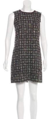 Dolce & Gabbana Virgin Wool-Blend Dress