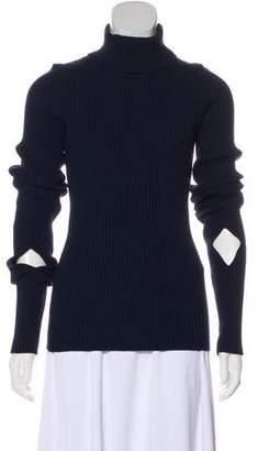 Jacquemus Rib Knit Turtleneck Sweater