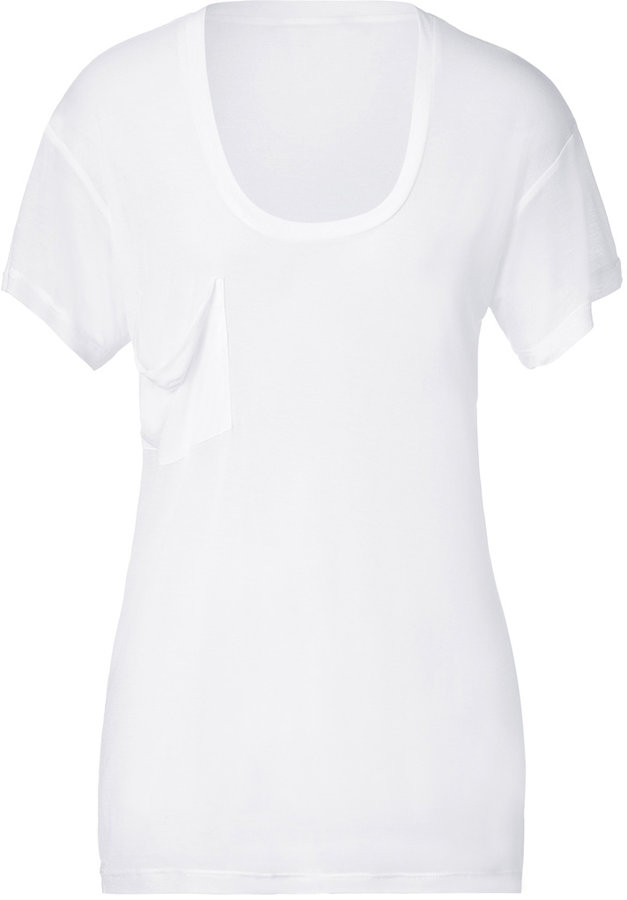 Kain Label White S/S Classic Pocket Tee