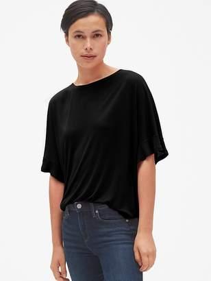 Gap Drapey Flutter Sleeve T-Shirt