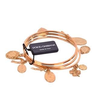 Dolce & Gabbana Gold Metal Bracelet