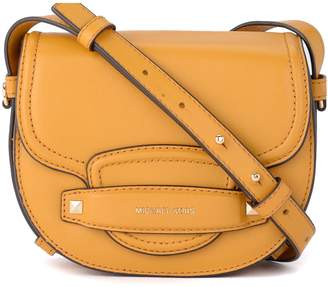 Michael Kors Cary Yellow Leather Shoulder Bag.