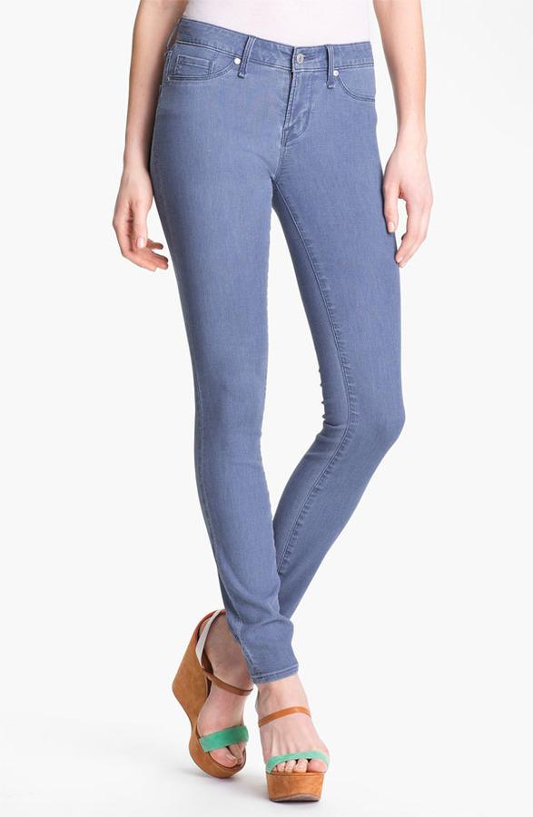 Marc by Marc Jacobs 'Stick' Skinny Stretch Jeans (Faded Stripe)