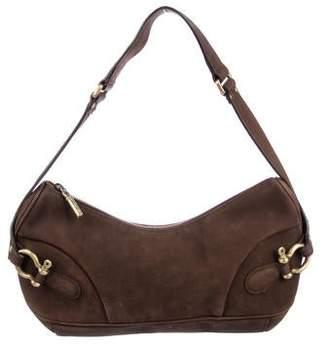 Burberry Nubuck Shoulder Bag