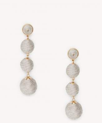 Sole Society Clover Crispin Drop Earrings