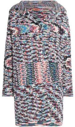 Missoni Crochet-Knit Cashmere Coat