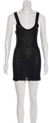 Enza Costa Sleeveless Mini Dress