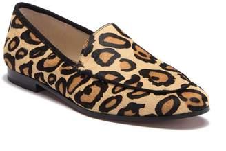 Sam Edelman Leon Leopard Print Calf Hair Flat