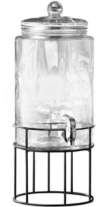 Jay Import Co Artesia Glass Beverage Dispenser with Stand
