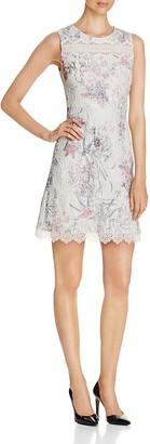 Elie Tahari Skyla Floral Print Seersucker Dress $498 thestylecure.com