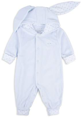 Livly Boys' Hooded Romper with Bunny Ears - Baby