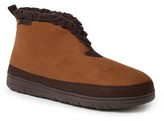 Dearfoams Microsuede Faux Shearling Lined Boot