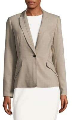 Calvin Klein Notch Lapel Jacket