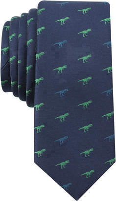 Bar III Men's Multi Print Conversational Skinny Tie